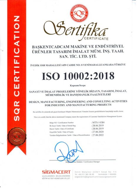 ISO10002:2018